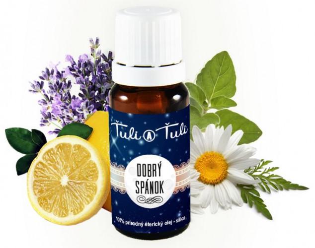 Ťuli a Ťuli - Dobrý spánek přírodní éterický olej-silice 10 ml