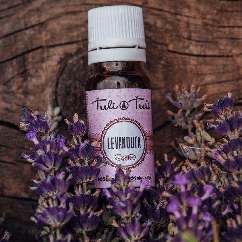 Ťuli a Ťuli - Levandule přírodní esenciální olej 10 ml