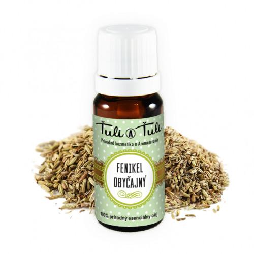 Ťuli a Ťuli - Fenykl obecný přírodní esenciální olej 10 ml