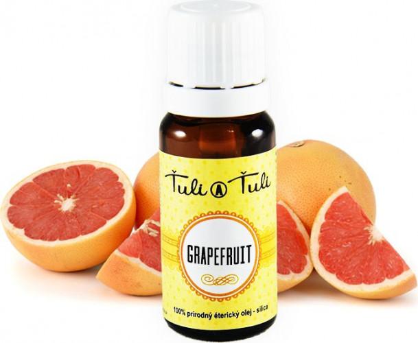 Ťuli a Ťuli - Grapefruit přírodní éterický olej–silice 10 ml