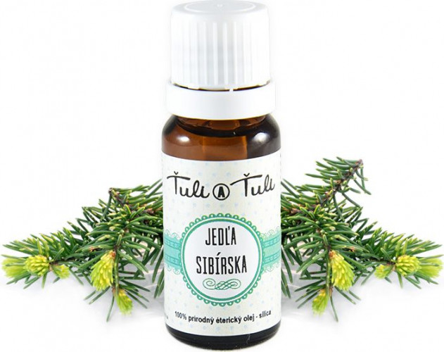 Ťuli a Ťuli - Jedle sibiřská přírodní éterický olej-silice