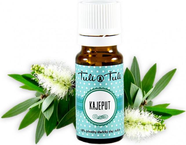 Ťuli a Ťuli - Kajeput přírodní éterický olej-silice 10 ml