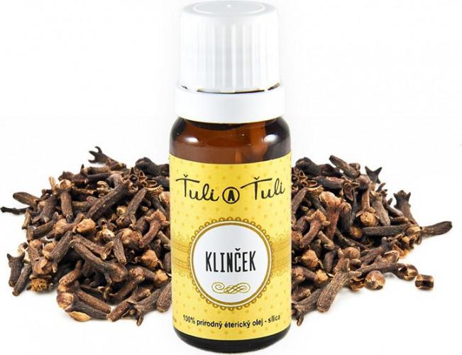 Ťuli a Ťuli - Hřebíček přírodní esenciální olej–silice 10 ml