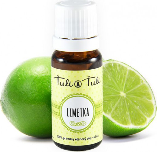 Ťuli a Ťuli - Limetka přírodní esenciální olej 10 ml