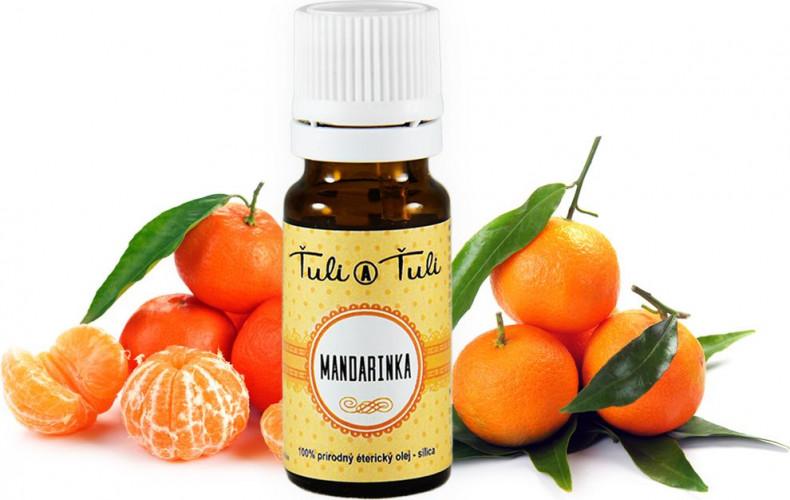 Ťuli a Ťuli - Mandarinka přírodní esenciální olej-silice 10 ml