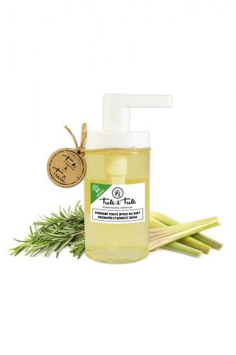 Ťuli a Ťuli - Přírodní tekuté mýdlo na ruce rozmarýn-citrónová tráva