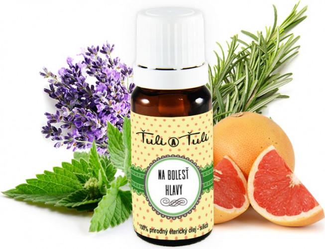 Ťuli a Ťuli - Na bolest hlavy přírodní esenciální olej 10 ml