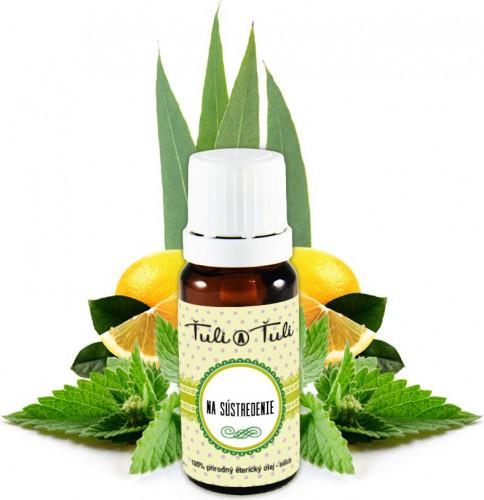 Ťuli a Ťuli - Na soustředění přírodní esenciální olej 10 ml
