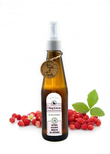 Ťuli a Ťuli dětská olejová emulze na koupání 250 ml