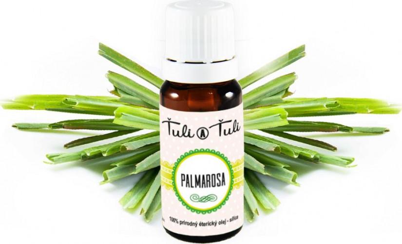 Ťuli a Ťuli - Palmarosa přírodní éterický olej-silice 10 ml