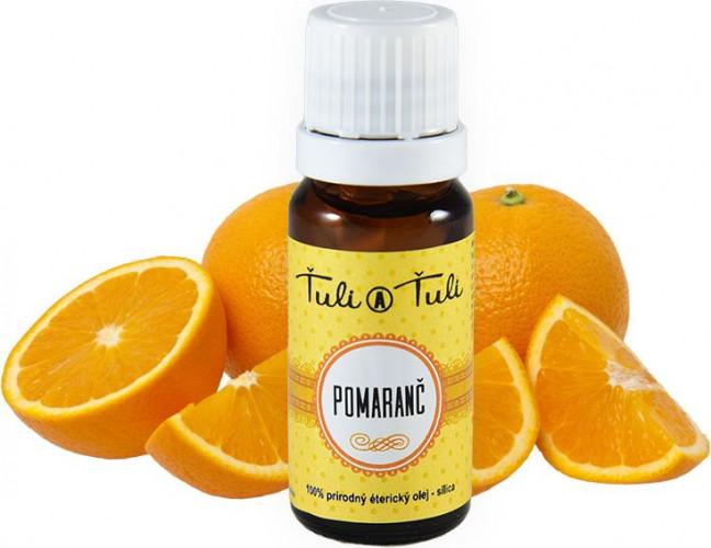 Ťuli a Ťuli - Pomeranč přírodní éterický olej–silice 10 ml