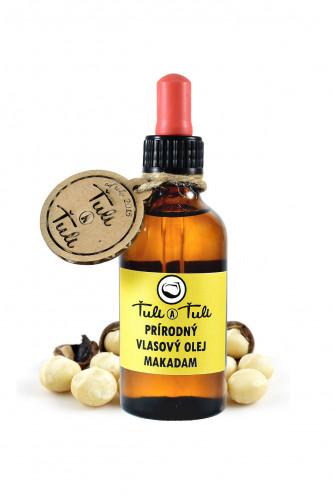 Ťuli a Ťuli - Přírodní vlasový olej Makadam