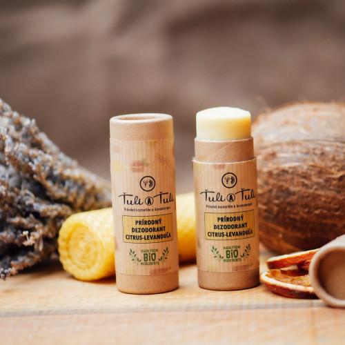 Ťuli a Ťuli Přírodní deodorant Citrus – Levandule