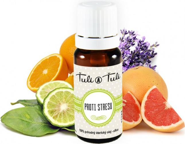 Ťuli a Ťuli - Proti stresu přírodní esenciální olej 10 ml