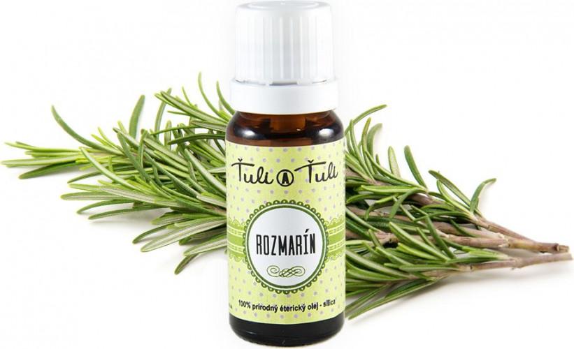 Ťuli a Ťuli - Rozmarýn přírodní éterický olej-silice 10 ml