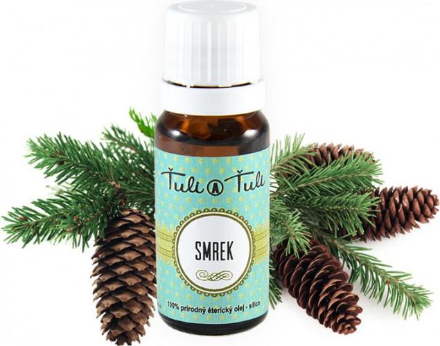 Ťuli a Ťuli - Smrk přírodní éterický olej-silice 10 ml