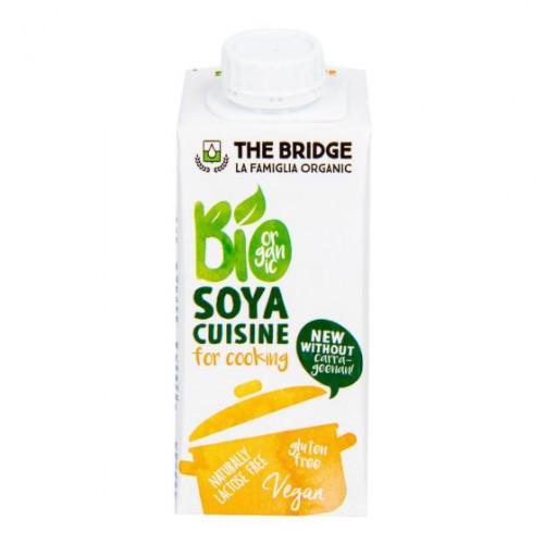 The Bridge - Sójová alternativa smetany 7% tuku 200 ml BIO THE BRIDGE