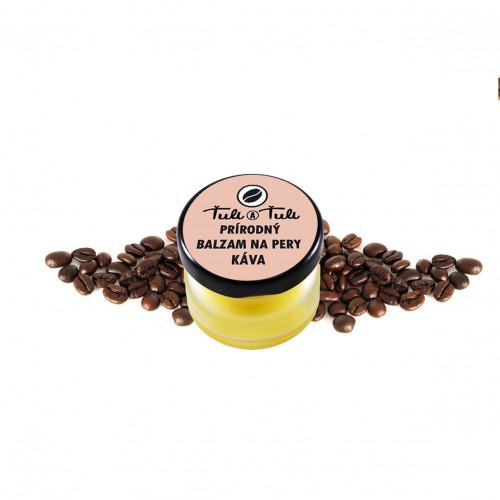 Ťuli a Ťuli - Přírodní balzám na rty Káva
