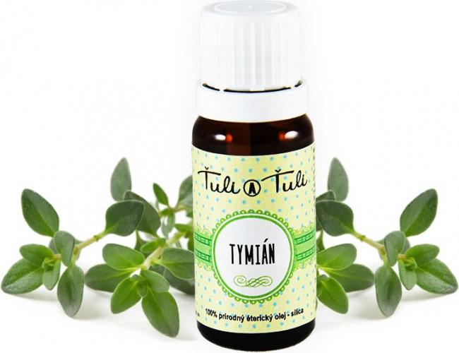 Ťuli a Ťuli - Tymián přírodní éterický olej-silice 10 ml