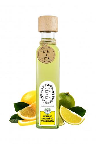 Ťuli a Ťuli přírodní sprchový gel citron a limetka 250 ml